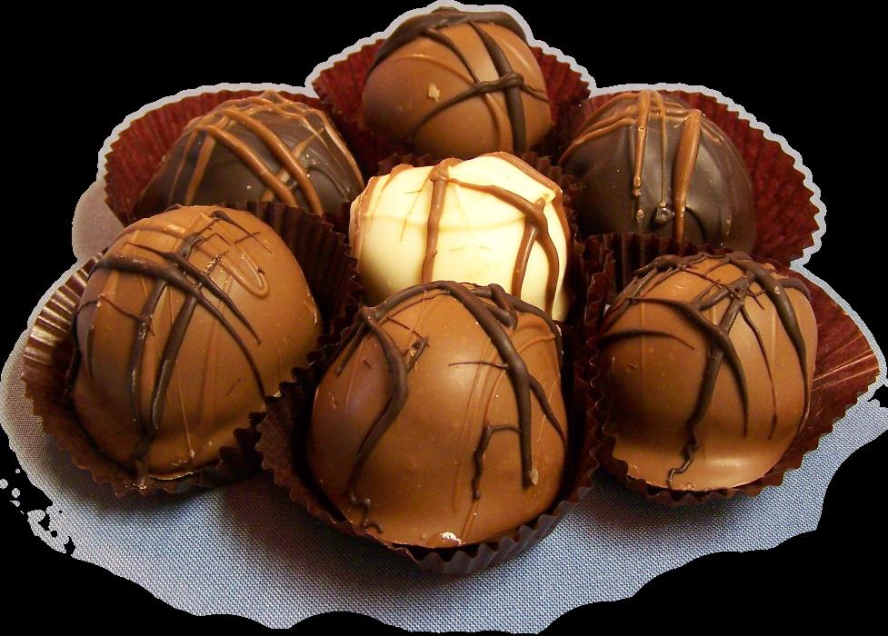 Double-Chocolate Truffles